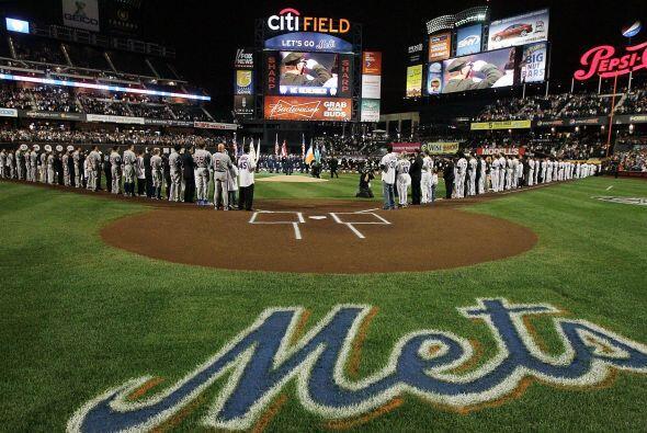 Mets y Cachorros recordaron a las víctimas de los ataques del 9/11.