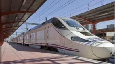 Foto del tren Alvia Serie 730 Híbrido tomada del sitio oficial dela Red...