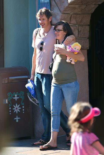 Milla nos mostró lo adelantado que ya está su embarazo.
