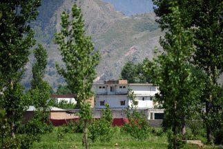 La mansión en Abbottabad, en Pakistán, donde estaba Bin Laden.