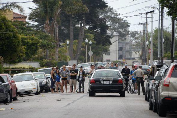 Las autoridades hallaron al presunto autor del tiroteo con un disparon e...