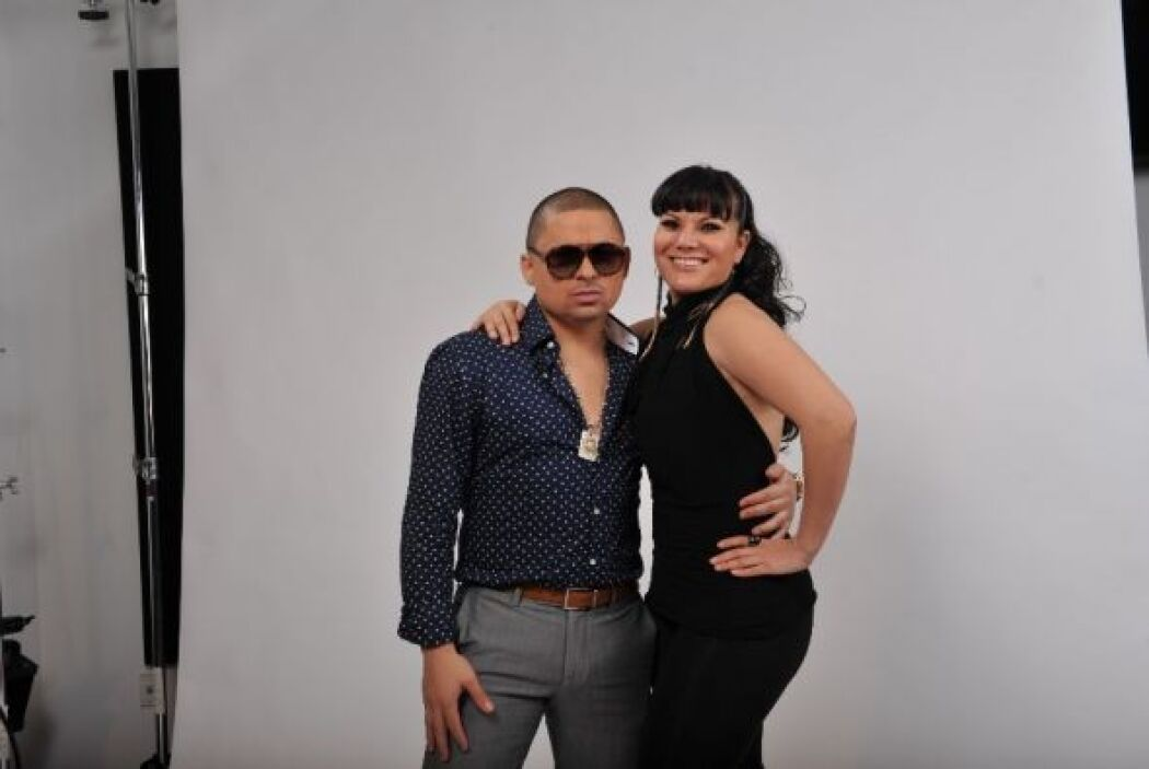 Larry Hernández y Diana Reyes presumieron su estilo con mucha actitud ¿l...