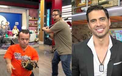 La gozadera, Pedro Moreno nos enamoró con su sonrisa y Carlitos casi pie...