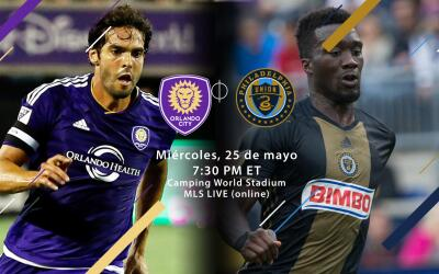 Orlando City SC vs Philadelphia Union