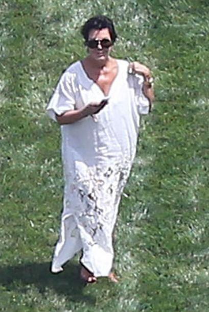 La matriarca de las Kardashian iba bastante cómoda. Más videos de Chisme...