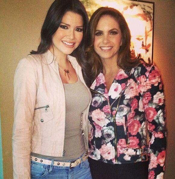 Ana Patricia entrevistó a la bella presentadora de los Latin Gram...