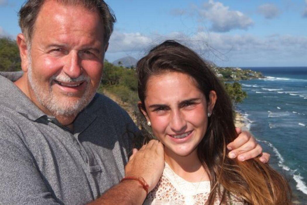 Raúl consintió a su hija Mía en este lugar, donde han estado en varias o...