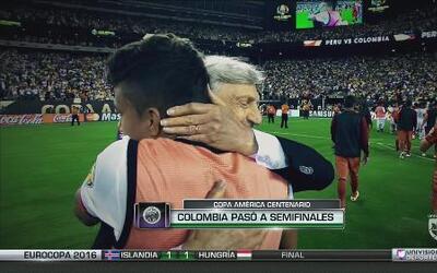 Este es el Labo B del partido Colombia - Perú