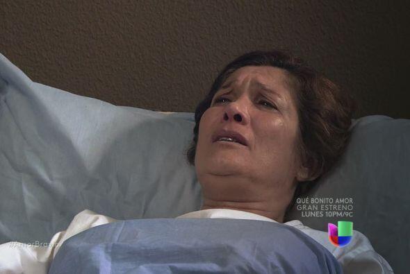 Agustina quiere que lo perdone, se ha equivocado respecto a él.