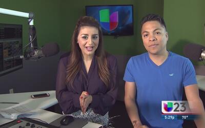 """""""En El Mix"""" con Danny Luna y Vanessa Abuchaibe en Noticias 23"""