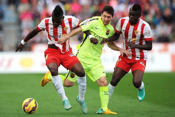 Luego el Barcelona recuperó los bríos con un triunfo de 2-1 en Almería a...