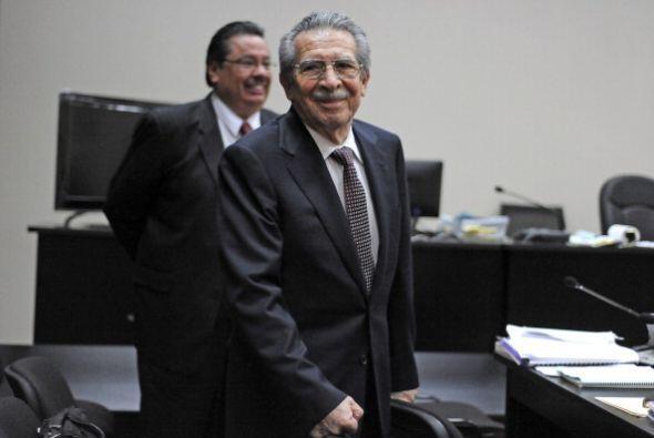 Ríos Montt, de 86 años, y Rodríguez, de 67, son acusados como autores in...