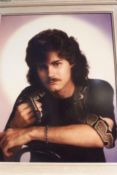 Este caballero quiso impartir su mirada hechicera y su amor por las serp...