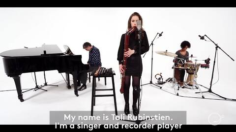 For Tali Rubinstein, the recorder became her voice