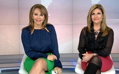 María Elena Salinas y Teresa Rodríguez nos dan un adelanto de Aquí y Aho...