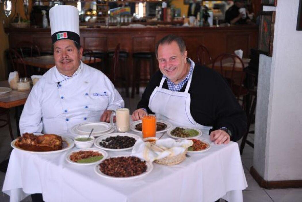 Descubrió nuevos moles, nuevas salsas y nuevos guisos gracias a Don Chon.