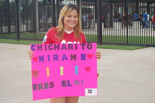 Ok, ya entendimos, alguien quiere llamar la atención de Javier Hernández.