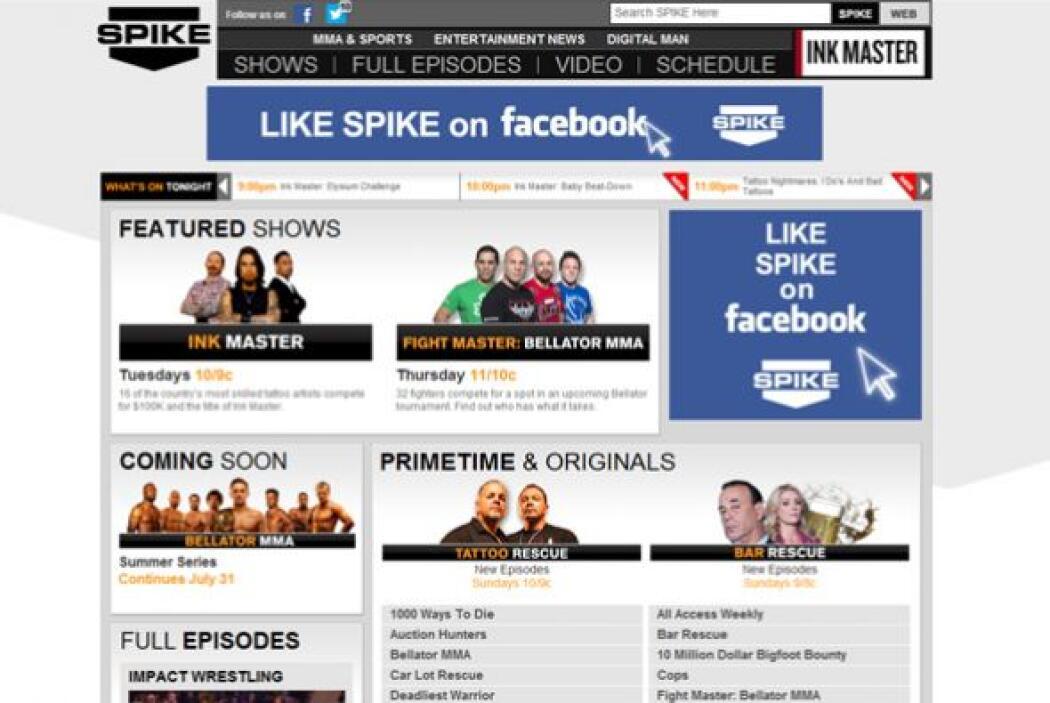 12. Spike TV  ¿Quién ocupa el mismo lugar en el mercado general?- Dawn.