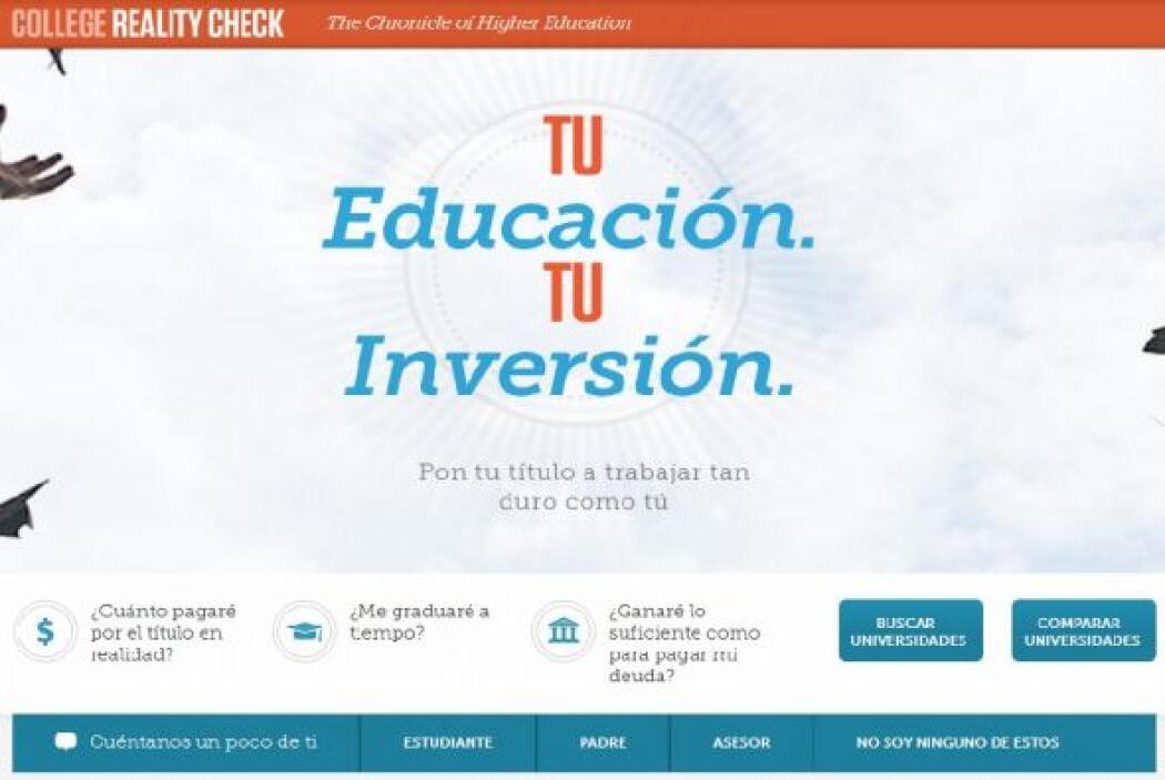 Otra nueva herramienta es la guía para encontrar la institución académic...