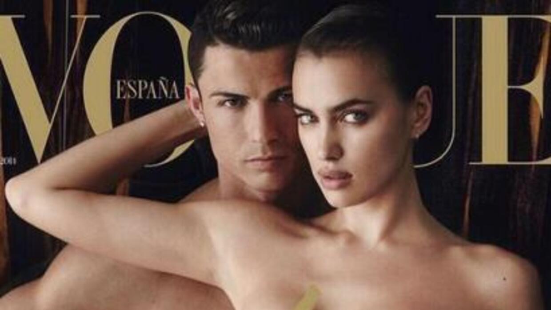 La modelo logró llevar a su novio de las canchas a las cámaras de la rev...