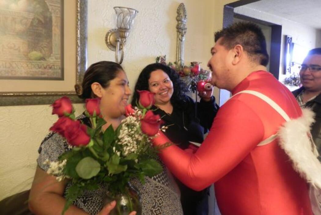 Al festejarse el día del amor y la amistad Yuridia Arreola quería sorpre...
