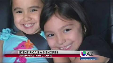 Revelan identidad de niñas asesinadas por su padre