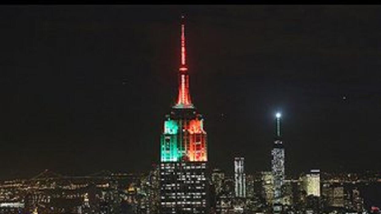 El Empire State de Nueva York.