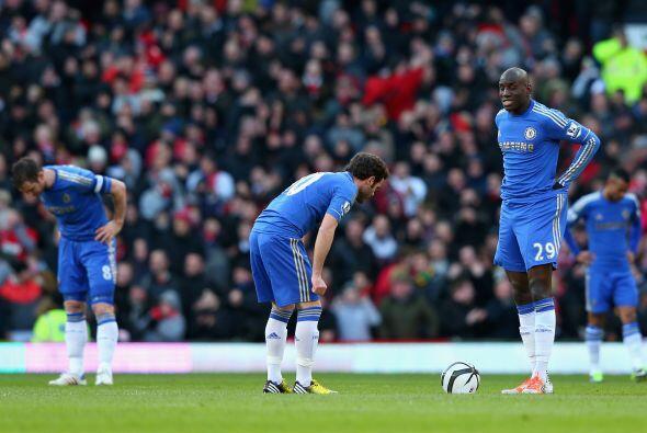 Chelsea no podía creer que tan temprano ya estuviera con un marca...