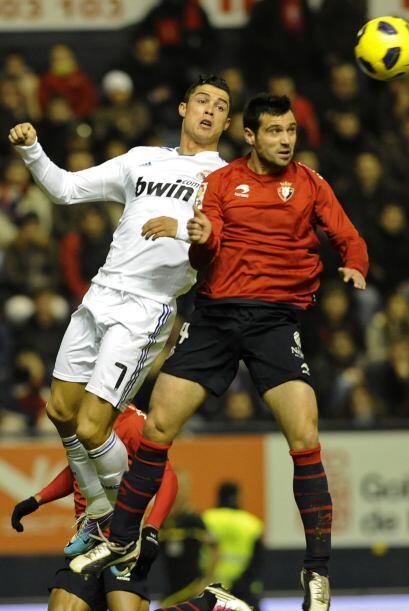 El Real Madrid visitó la casa del Osasuna con la necesidad de sac...