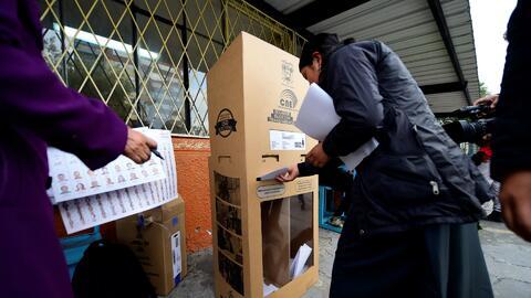 Se vaticina una segunda vuelta para la elección del próximo presidente d...