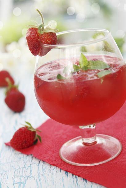 Fresas, para aumentar la pasión.