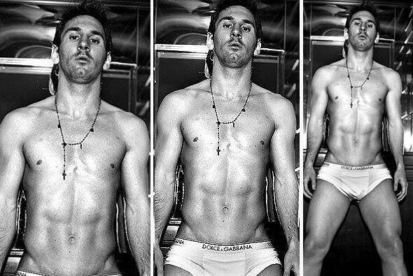 No por nada eligieron a Lionel Messi como  modelo de Dolce&Gabbana. Más...