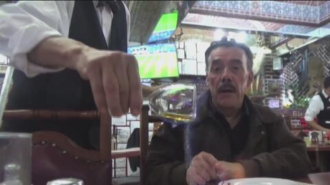 Acompañamos a Don Pedro Rivera al restaurante donde cenó por última vez...