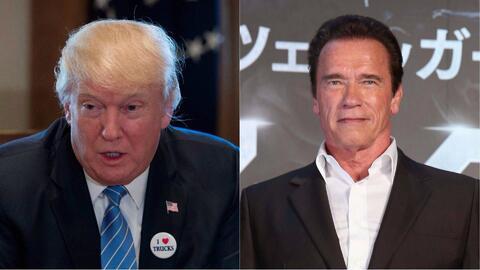"""Schwarzenegger contra Trump: """"Solo alguien que vive en la Edad de Piedra..."""