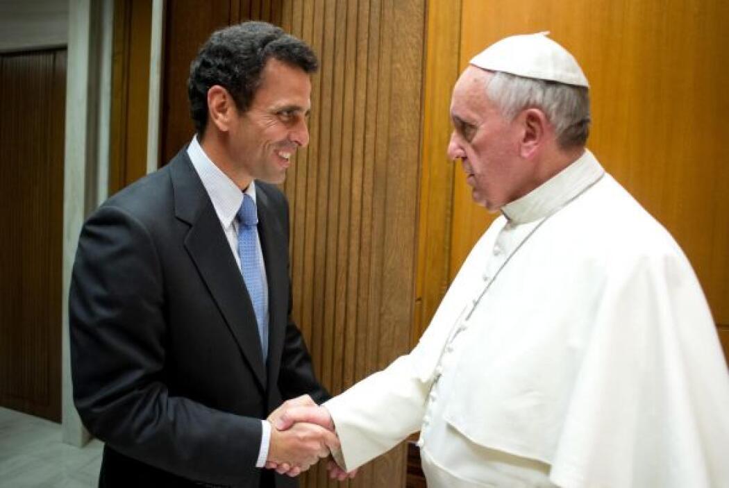 El 6 de noviembre se reunió con Henrique Capriles, líder opositor venezo...