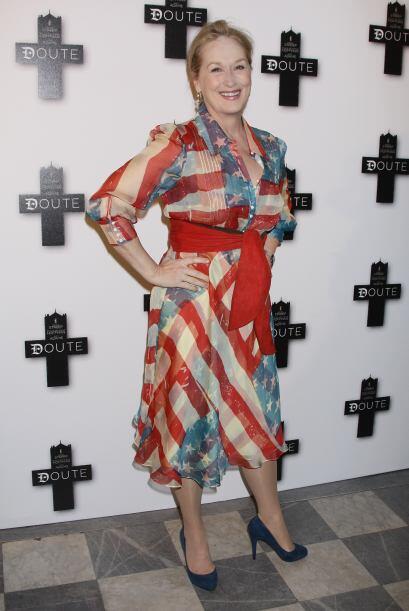 Meryl Streep también les pueda dar una idea de lo que es vestir en esa f...