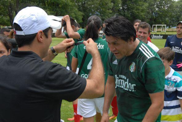 Los mexicanos también recibieron sus medallas, tal y como cuando...