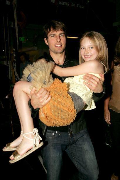 """En el verano de 2005, fue la hija de Tom Cruise en """"War of the Worlds""""...."""