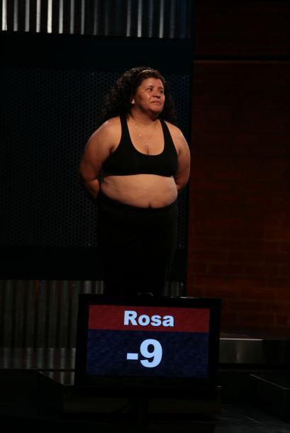 Para Rosa tampoco fue una semana fácil, pero la constancia le rindió bue...