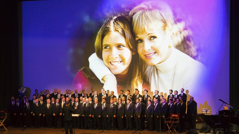 Ceremonia de homenaje póstumo a las actrices Debbie Reynolds y Carrie Fi...