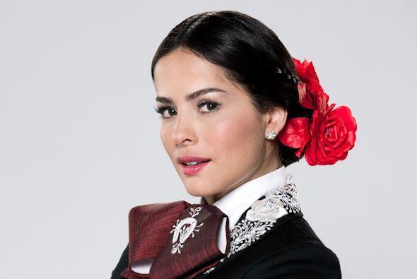 Danna García, con 1.60 metros, es considerada una de las mujeres...