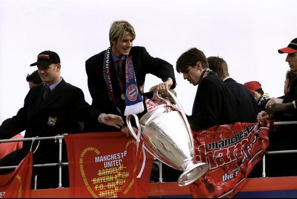 También conquistó la Liga de Campeones en 1999, en una fin...