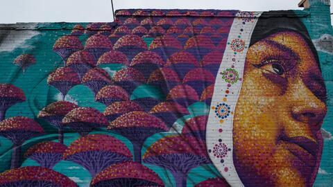 Un mural en Hamtramck
