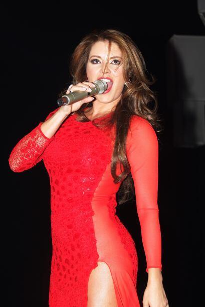 ¡Cómo lo oyes! La ex Miss Universo no sólo actuará para 'Lo Imperdonable...