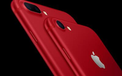 Apple lanza un iPhone 7 y un iPad en color rojo, apoyando la lucha contr...