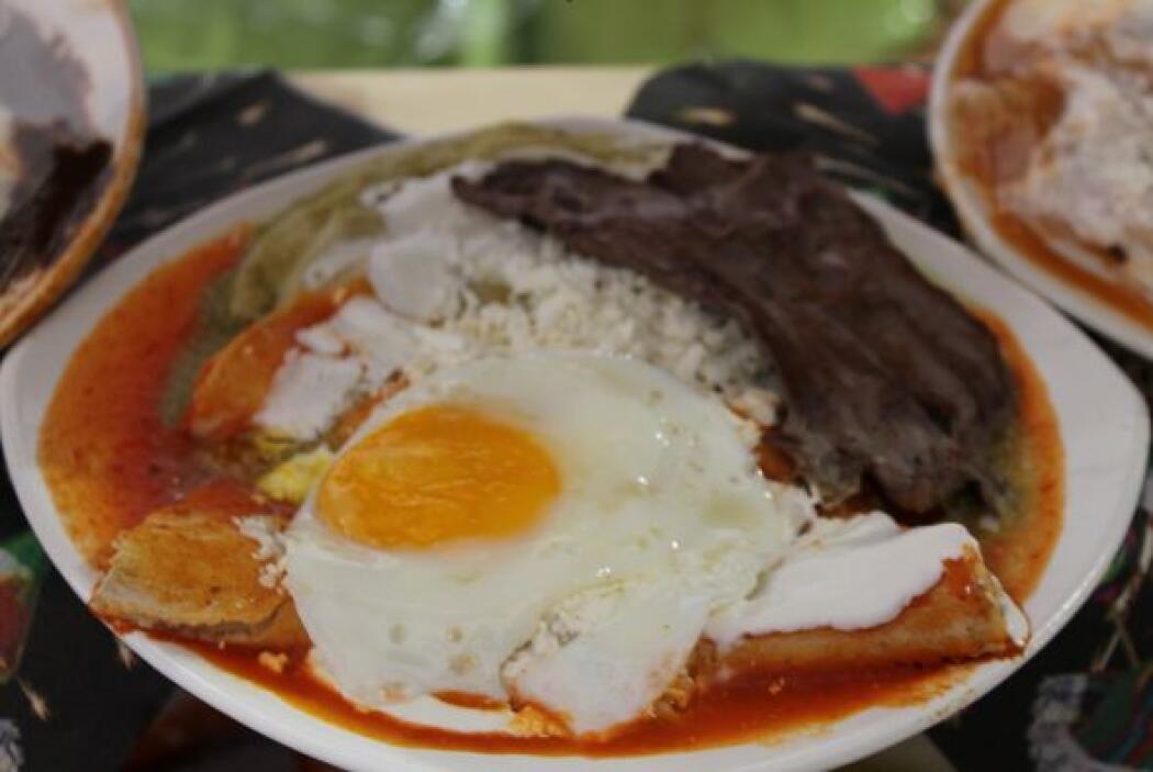 Para darse un buen desayuno, estas enchiladas son la mejor idea. Son lle...
