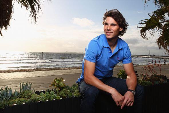 Aunque el tenista no atraviesa por su mejor momento, se mostró confiado...