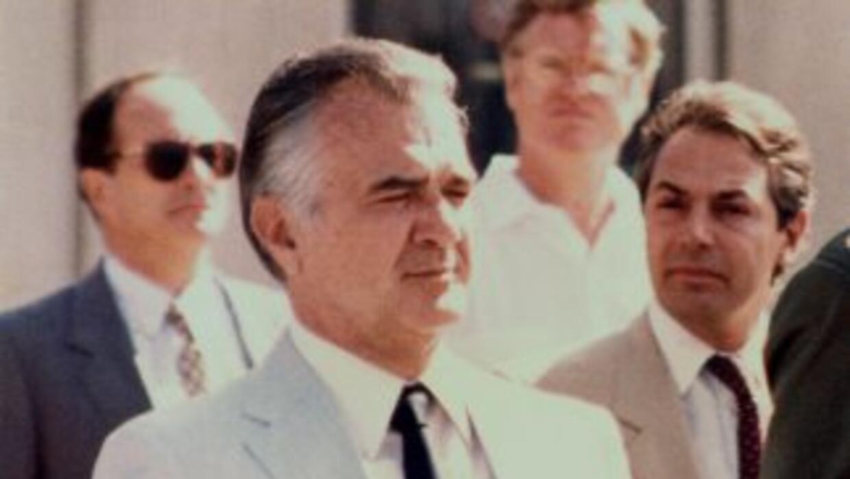 Miguel de la Madrid Hurtado, presidente de México de 1982 a 1988.