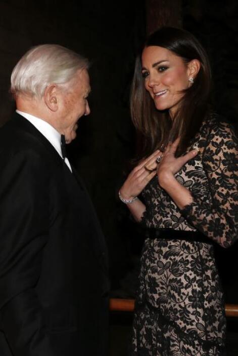 Kate y William asistieron el pasado 11 de diciembre  a la premiere del M...