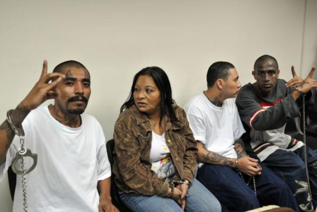 Junto a una mujer, estos pandilleros habían sido procesados por la matan...